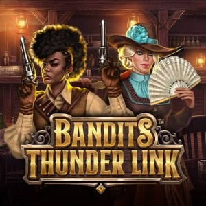Bandit Thunder Link Slot Logo
