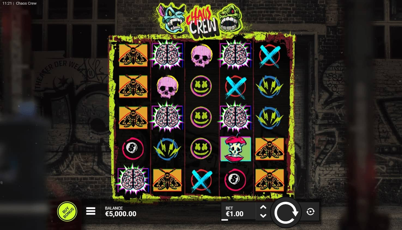 Chaos Crew Slot Base Game (1)