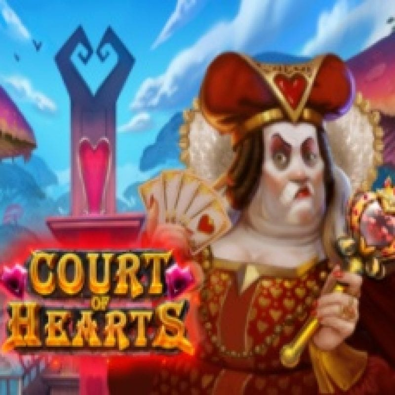 Court of Hearts Slot Logo