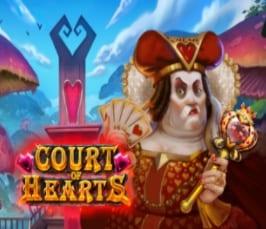 Court of Hearts Slot Logo