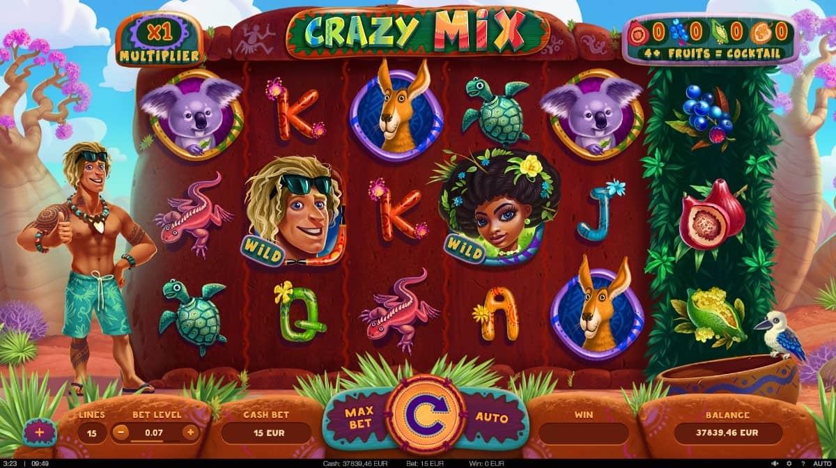 Crazy Mix Slot Base Game