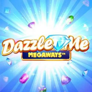 Dazzle Me Megaways Slot Logo (2)