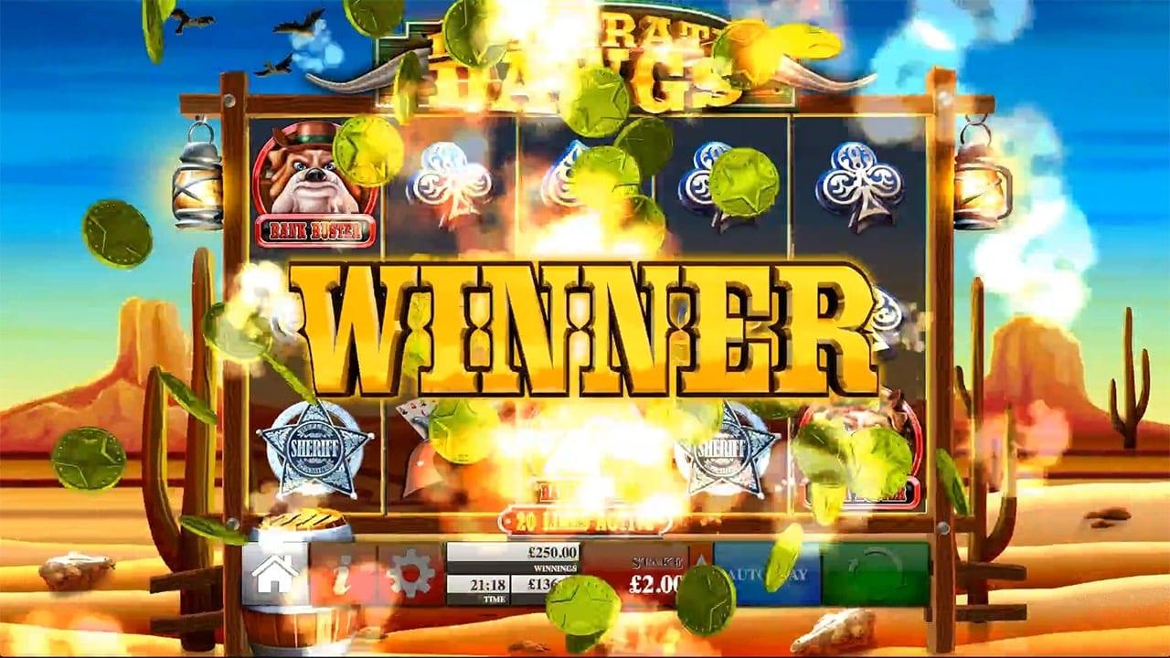 Desperate Dawgs Slot Gameplay