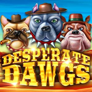 Desperate Dawgs Slot Logo 2