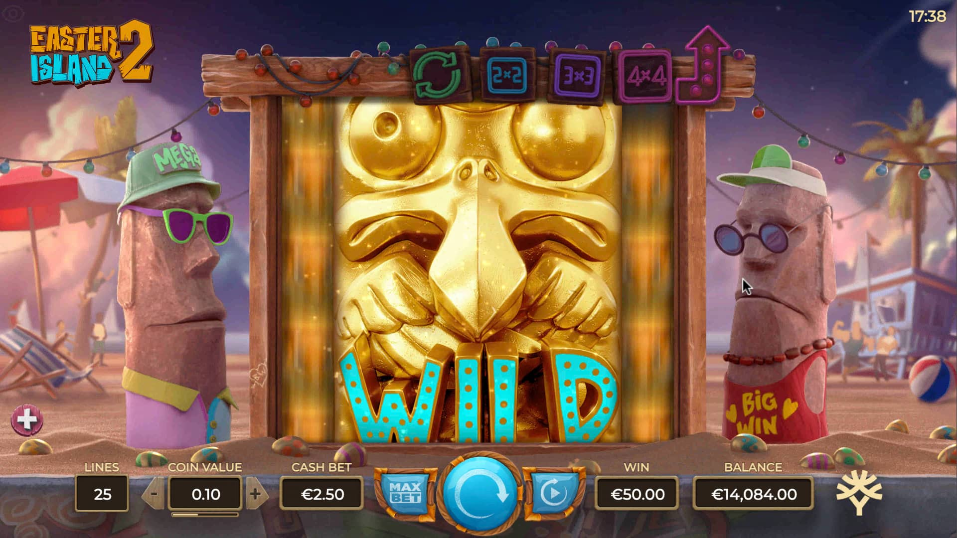 Easter Island Slot Gameplay 2