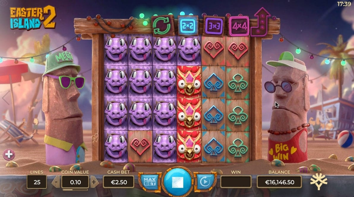Easter Island Slot Gameplay