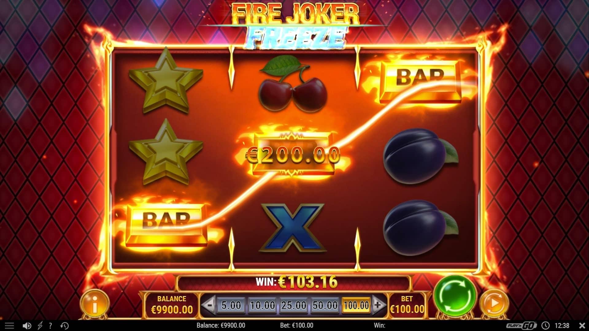 Fire Joker Freeze Base Game
