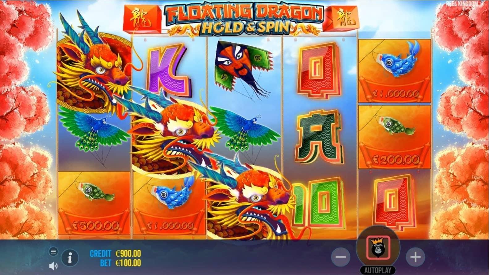 Floating Dragon Slot Gameplay (1)