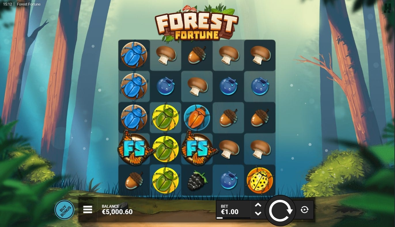 Forest Fortune Slot Base Game