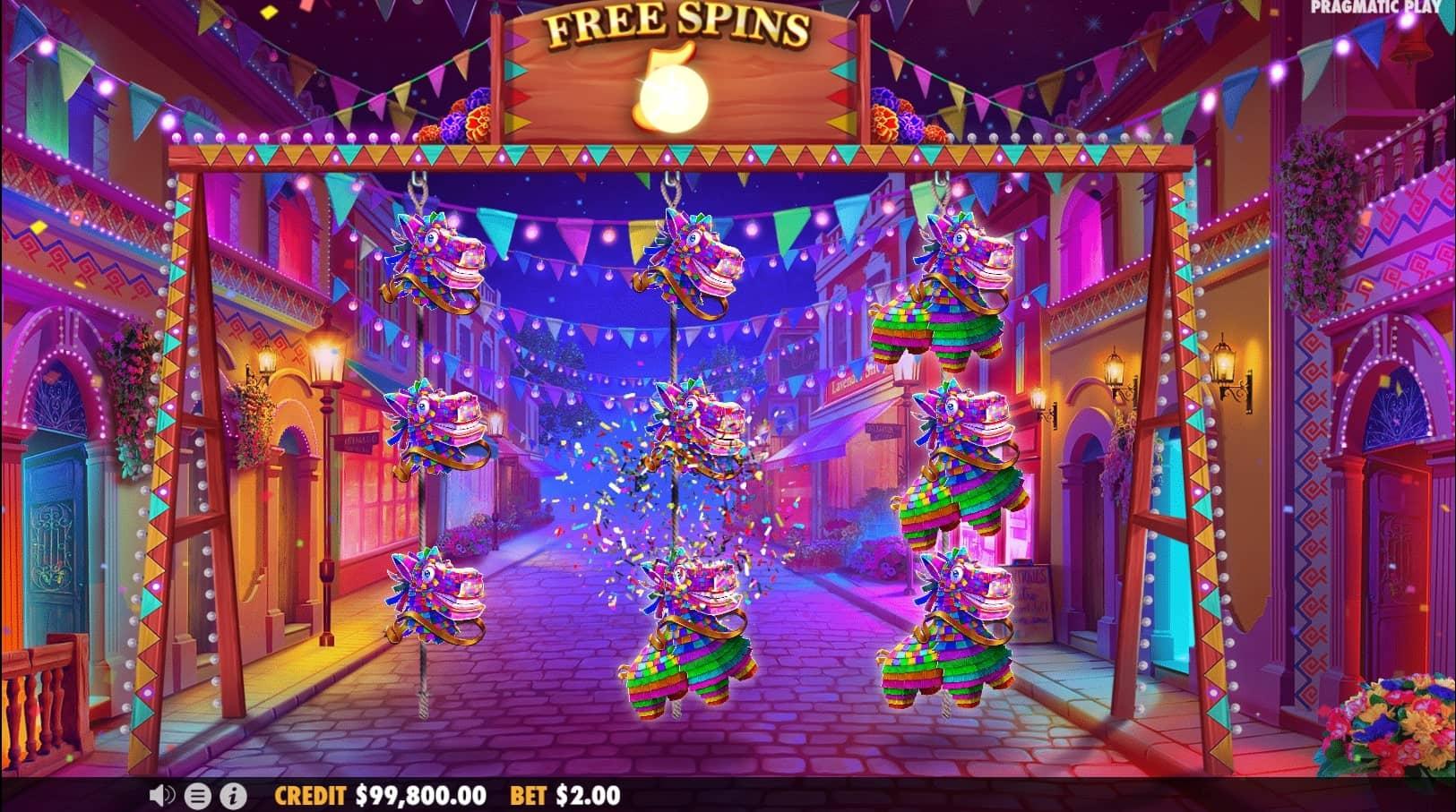 Hot Fiesta Slot Free Spins
