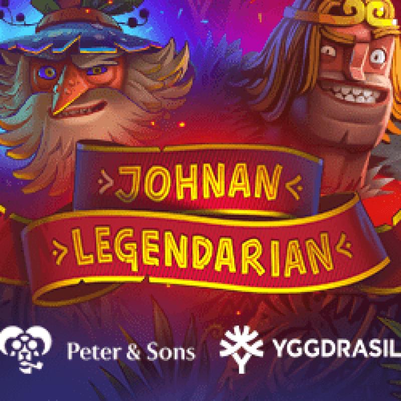 Johnan Legendarian Slot Logo