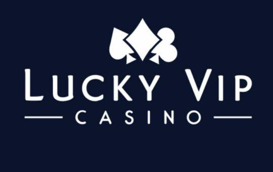 lucky vip casino logo
