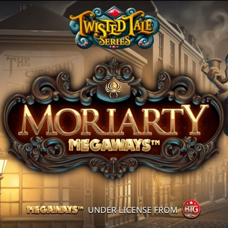 Moriarty Megaways Slot Logo
