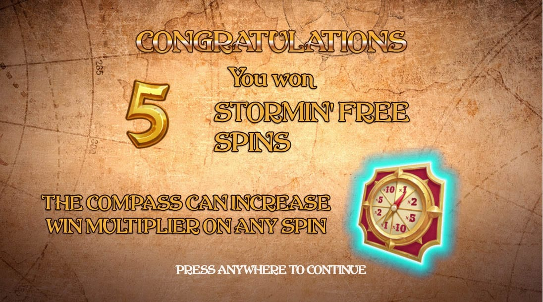 Sea of Riches Slot Free Spins