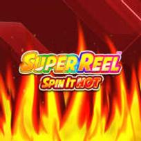 Super Reel Spin it Hot Slot Logo