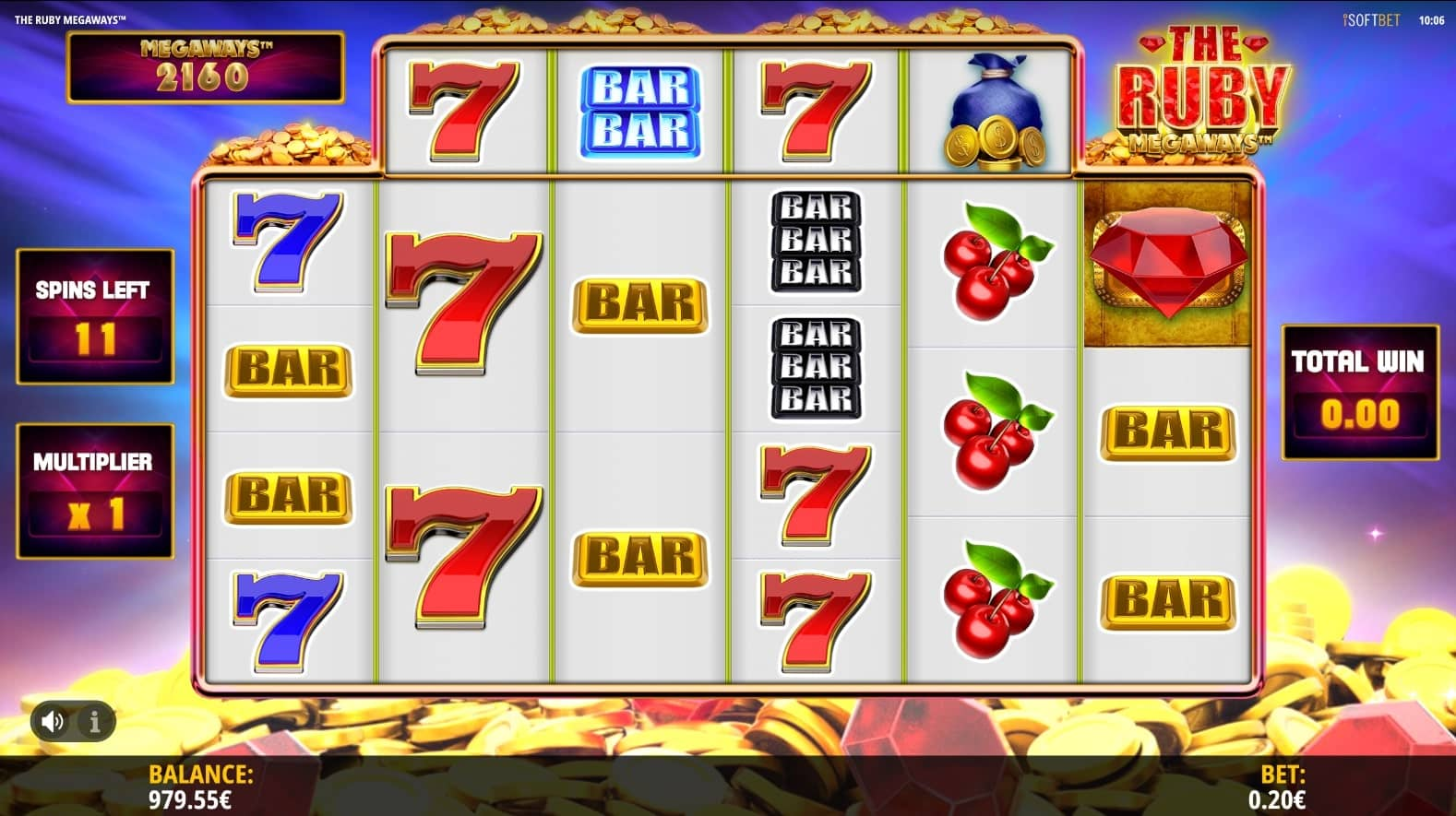 The Ruby Megaways Slot Free Spins