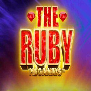 The Ruby Megaways Slot Logo