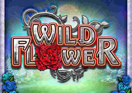 Wild Flower Slot Logo