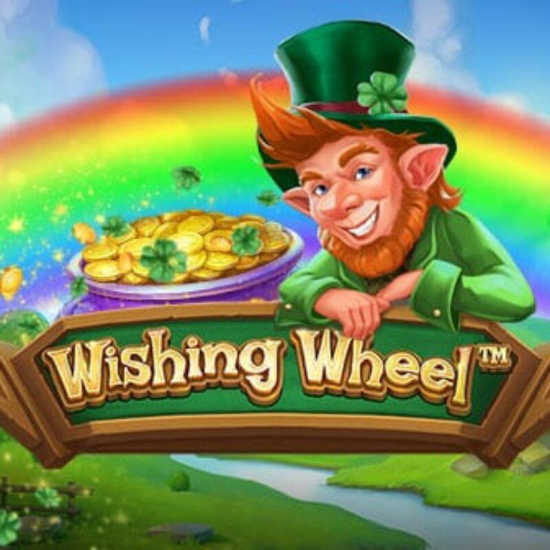 Wishing Wheel Slot Logo