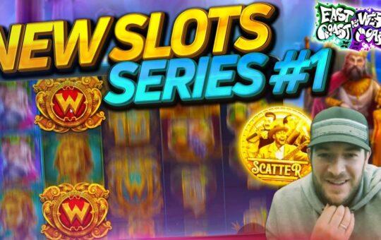 NEW SLOTS SERIES #1 – Chaos Crew, Joker King and MORE!