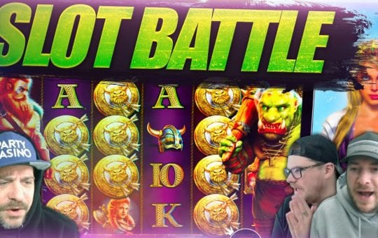 SLOTS THEMED BATTLE feat. PIRATE SLOTS vs VIKING SLOTS!