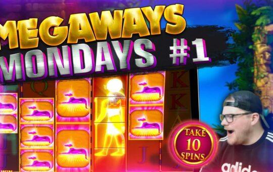 MEGAWAYS MONDAYS #1 – Feat Starz Megaways, Megaways Jack & More!