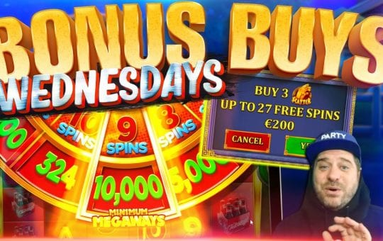 BONUS BUY WEDNESDAYS FEAT. VIEWERS! Episode #9 | Best Bonus Buy Slots