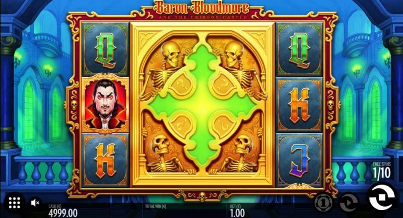 Baron Bloodmore and the Crimson Castle Free Spins