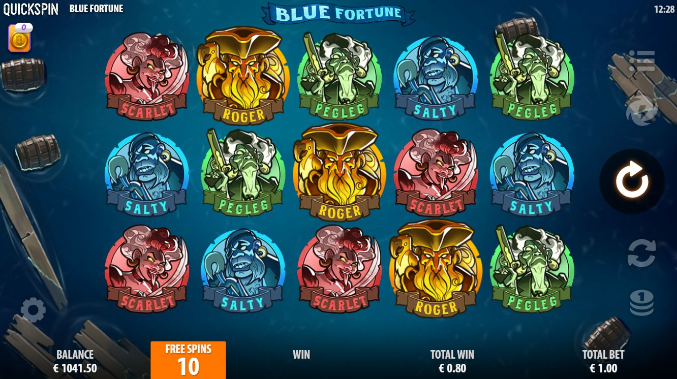 Blue Fortune Free Spins