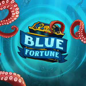 Blue Fortune Slot Logo