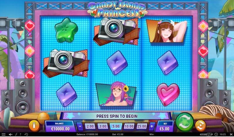 Candy Island Princess Free Spins