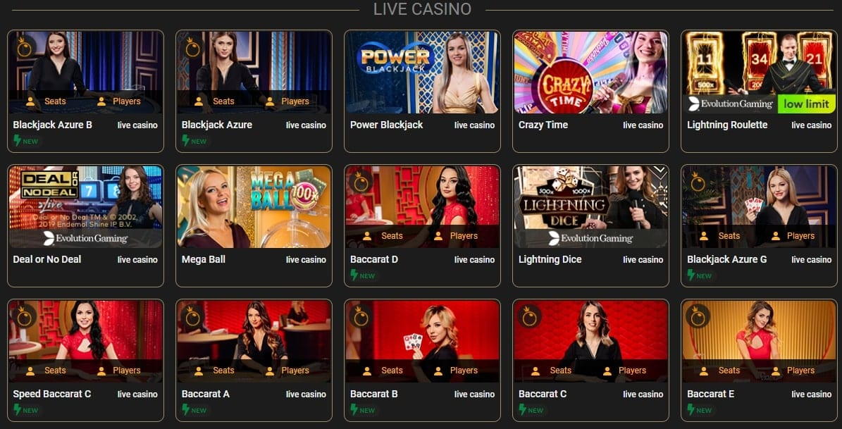 CasinoCasino Live Games