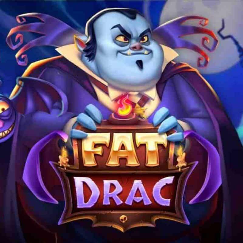 Fat Drac Slot Logo