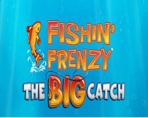 Fishin' Frenzy the big catch logo