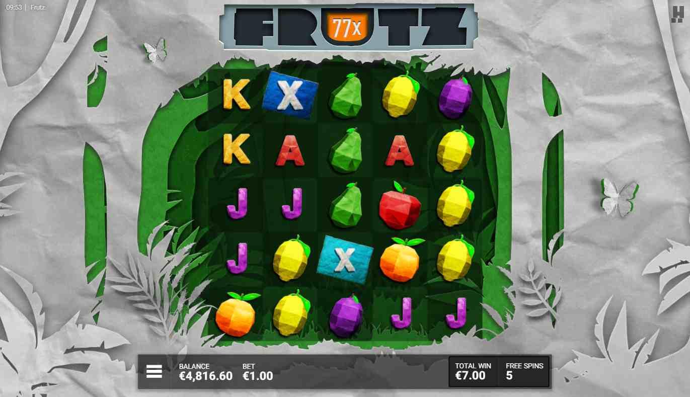 Frutz Slot Free Spins