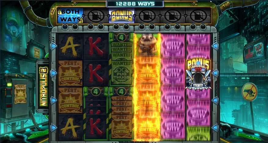 Nitropolis 2 Gameplay