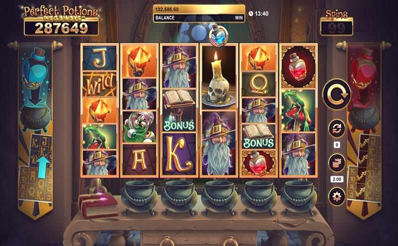 Perfect Potions Megaways Free Spins