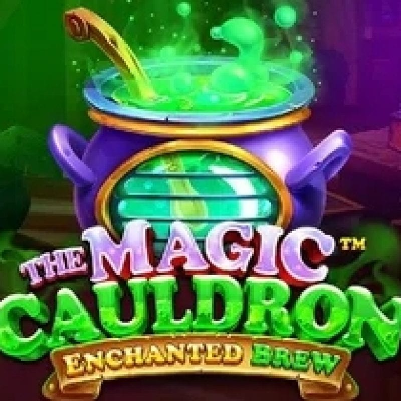 The Magic Cauldron Enchanted Brew Slot Logo