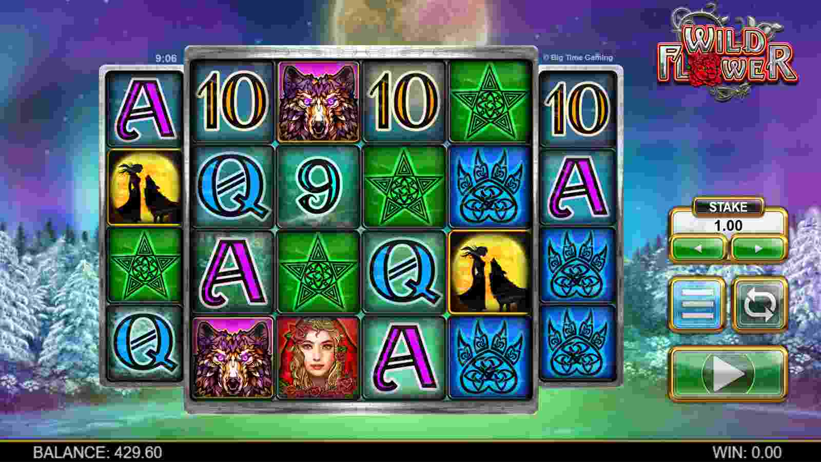 Wild Flower Slot The Base Game and Features