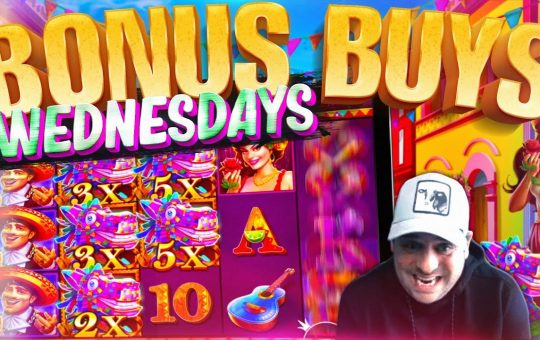 BONUS BUY WEDNESDAY! 54 Slot Bonuses!