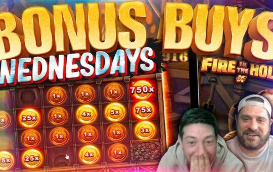 BONUS BUYS WEDNESDAY! 49 Online Slot Bonuses!!