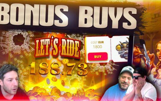 BONUS BUYS!! 29 Slot Bonuses With Josh, Jamie And Scotty!