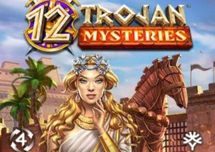 12 Trojan Mysteries Slot Logo