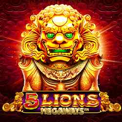 5 Lions Megaways Slot Logo2