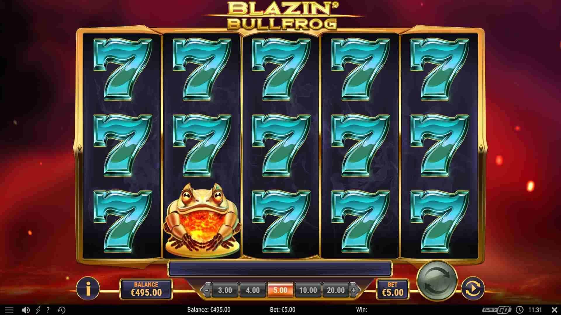 Blazin' Bullfrog Base Game