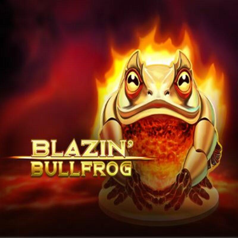 Blazin' Bullfrog Slot Logo small