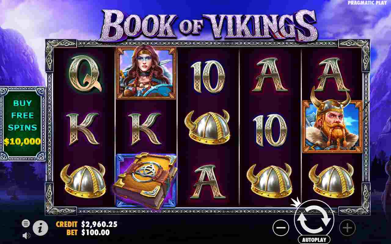 Book Of Vikings Slot Gameplay