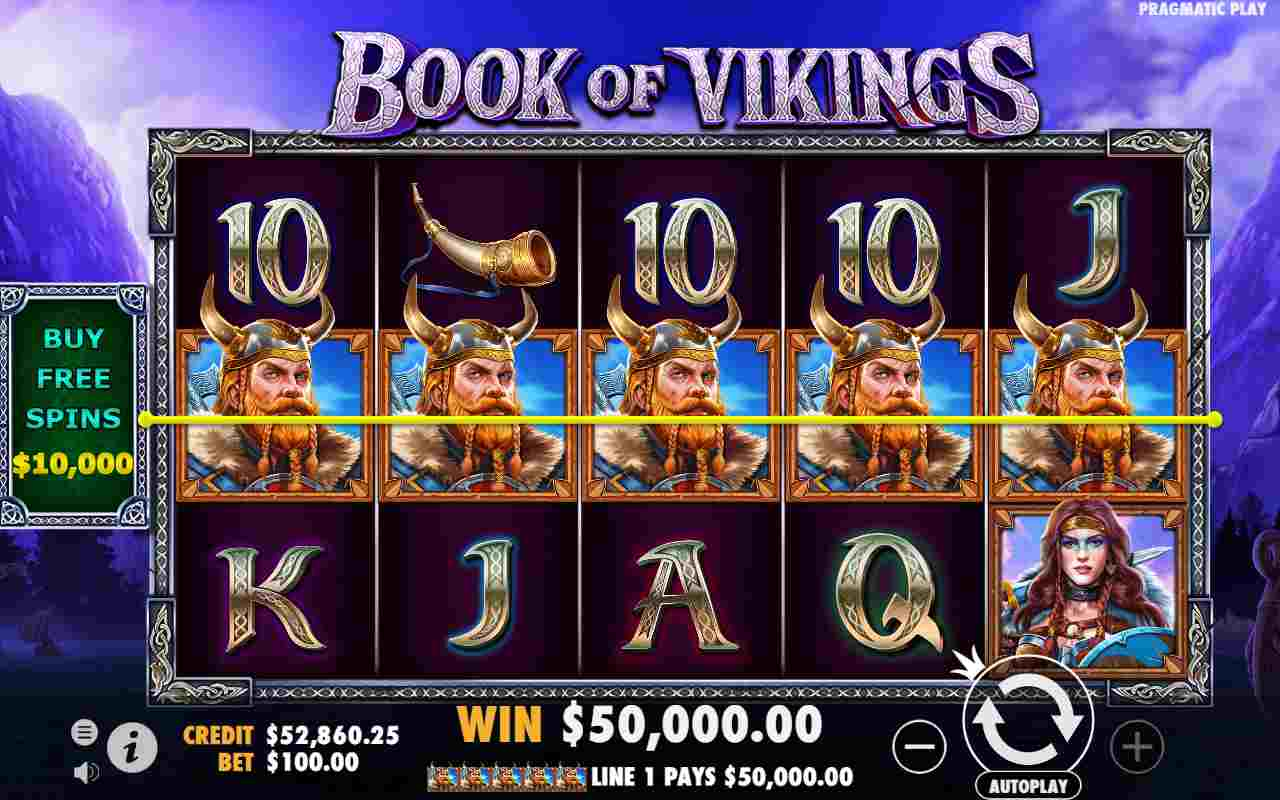 Book of Vikings The Base Game and Features