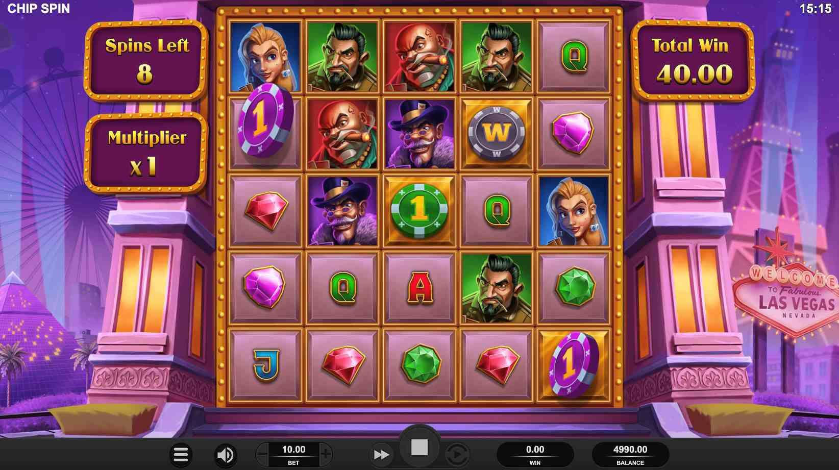 Chip Spin Free Spins