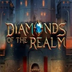 Diamonds of the Realm Slot Logo